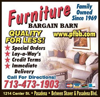 League City Bargain Furniture -